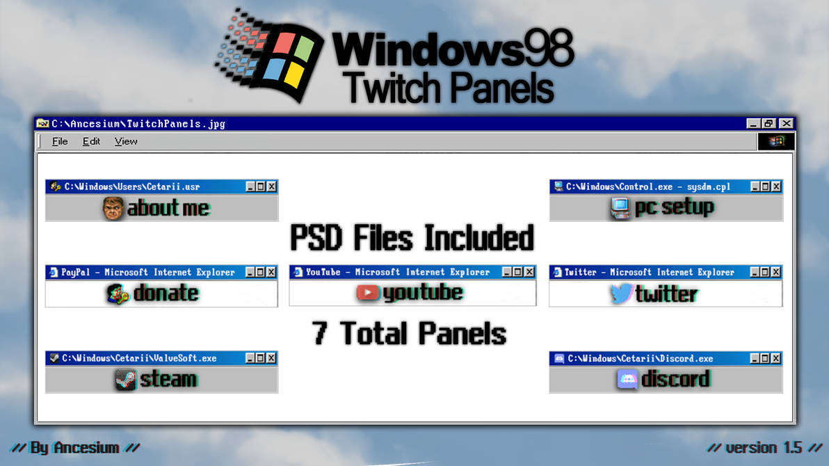 Fonts for twitch panels