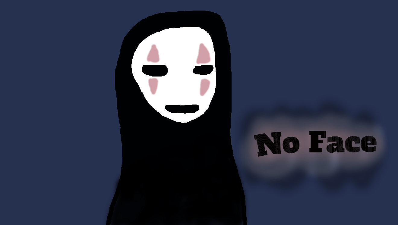 no face spirited away fan art by askqueenchrysalisxx on