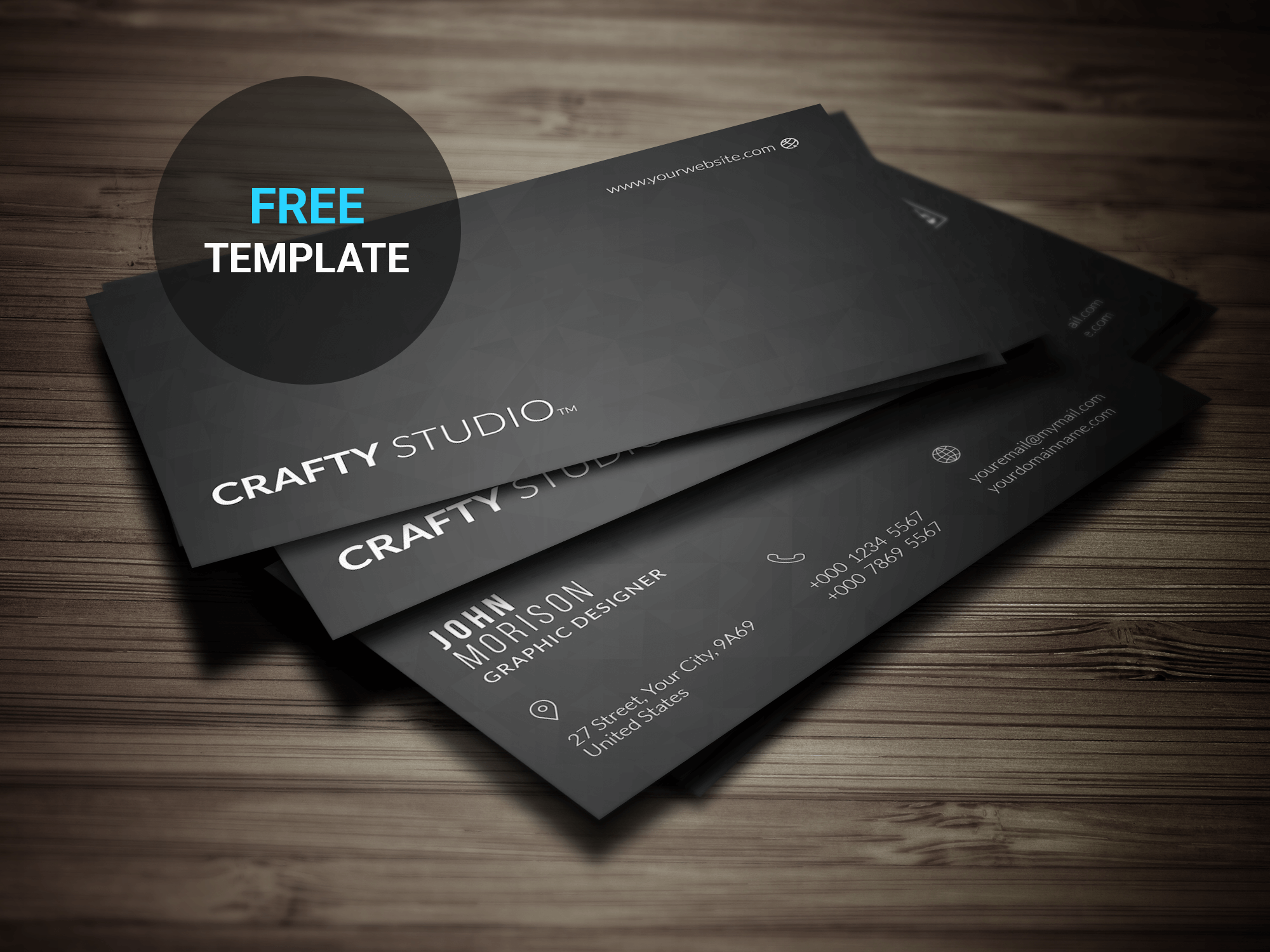 Free Minimal Business Card | Freebie by remon92 on DeviantArt
