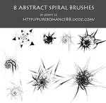 Abstract spiral brushes 1