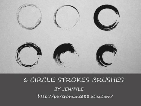 Circle stroke brushes
