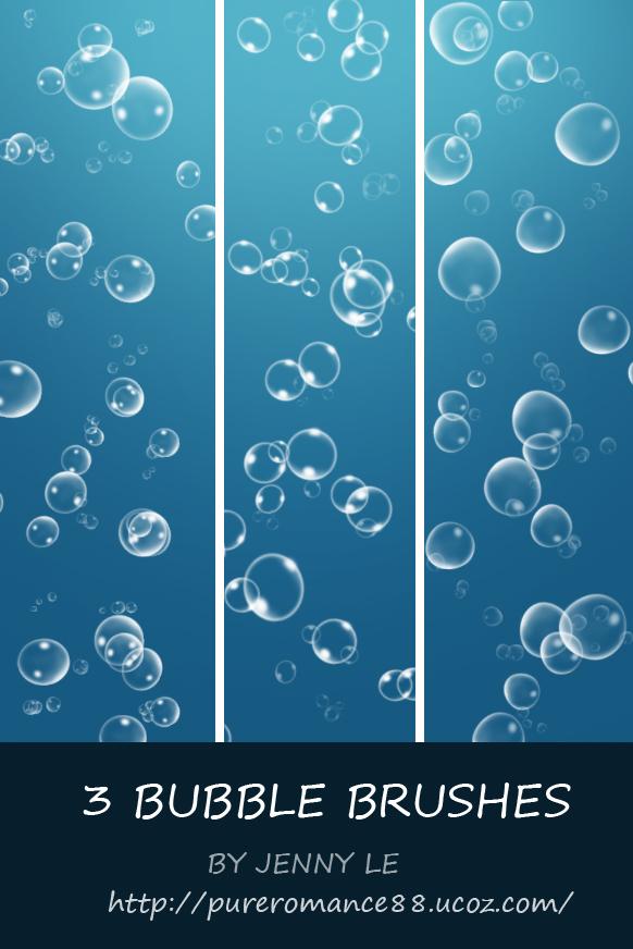 Bubble brushes by JennyLe88