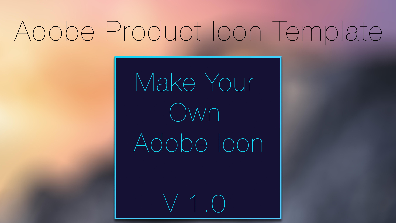 Custom Yosemite Adobe CC Icon Template v1.0 by Axiom-Apps on DeviantArt