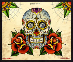 Skull Candy Traditional