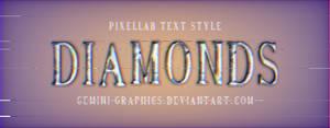 Diamonds - Pixellab Text Style