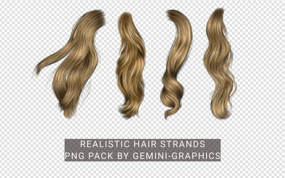 Realistic Hair Strands