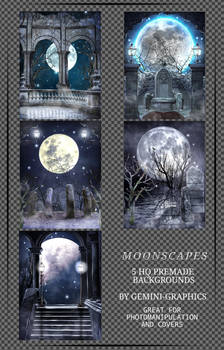 Moonscapes  | Premade Background