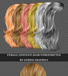 Female Hair Stock (Unrestricted)