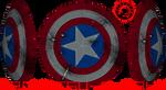Captain America's Shield Pepakura