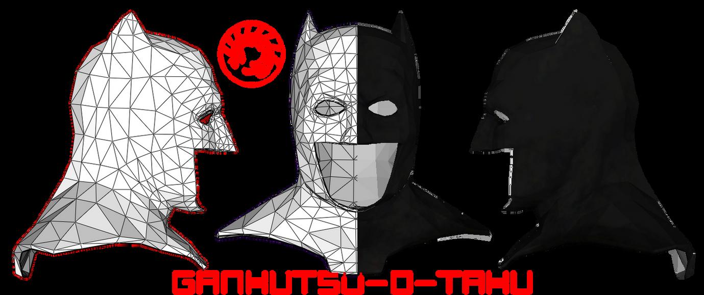 Batman helmet free papercraft download | helmets | pinterest.