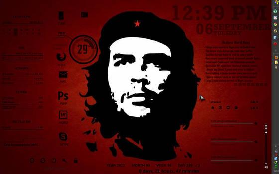 the red desktop