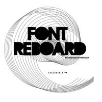Reboard Font by SoGoddess