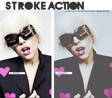 Stroke_Action by SoGoddess