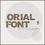 Orial_Font