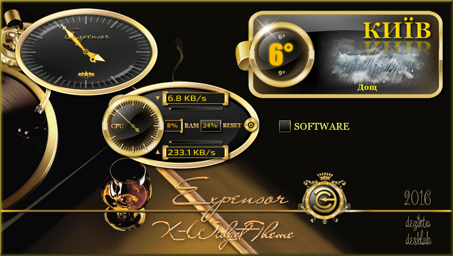 Expensor XWidget Theme by dezinto on DeviantArt