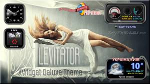 LEVITATOR - Free Deluxe XWidget Theme