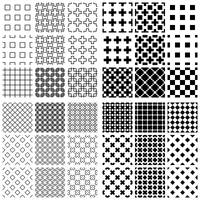 Cross Patterns by Stelamata