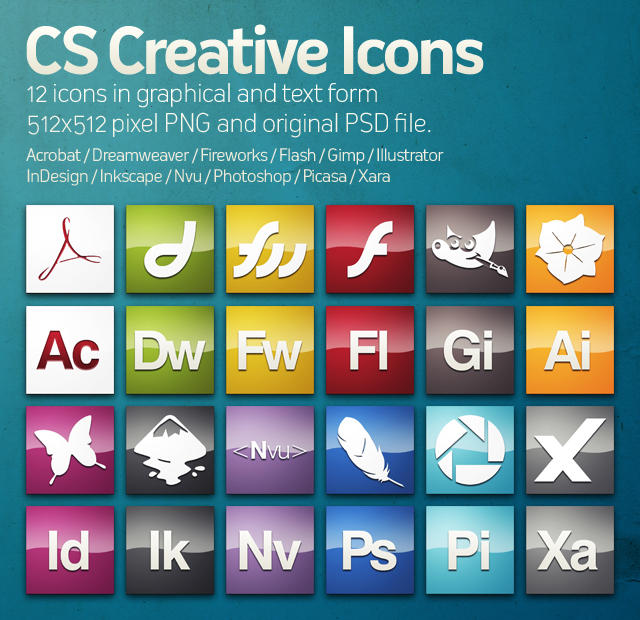 CS Creative Icons by HeskinRadiophonic