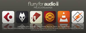 Flurry Icons for Audio 2 by HeskinRadiophonic