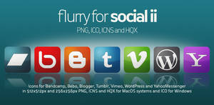 Flurry Icons for Social II