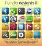 Flurry Icons for Deviants III