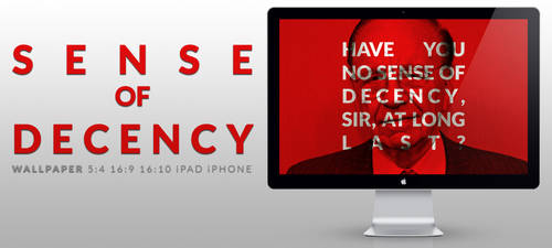 Sense of Decency