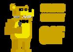 FNAF4 Style Minigame: Golden Freddy