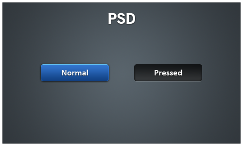 blue button psd by givesnofuck on deviantart