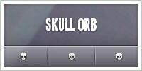 Skull Orb by givesnofuck