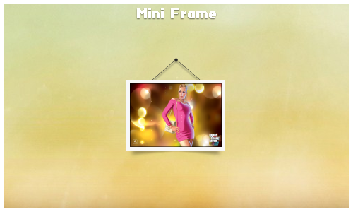 Mini Frame by givesnofuck