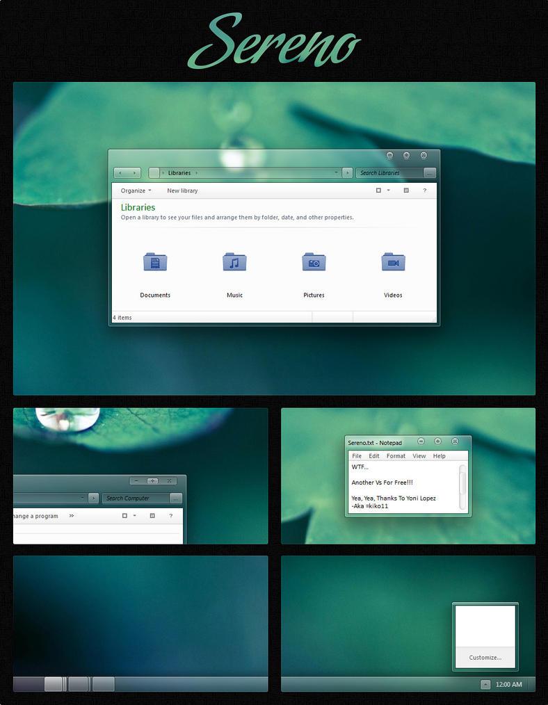 Penumbra 8 - Windows 8(.1) visual style