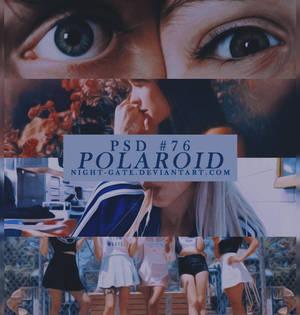 PSD #76 | Polaroid by night-gate