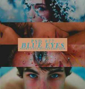 PSD #77 | Blue Eyes by night-gate