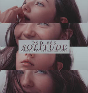 PSD #85 | Solitude by night-gate