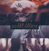 PSD #88 | Glory Nights by night-gate by night-gate
