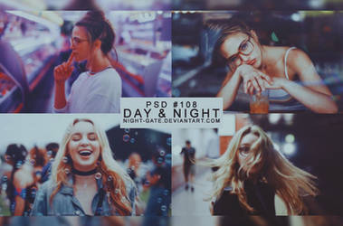 PSD #108 | Day and Night by night-gate by night-gate