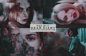 PSD #117 | Dear Diary by night-gate by night-gate