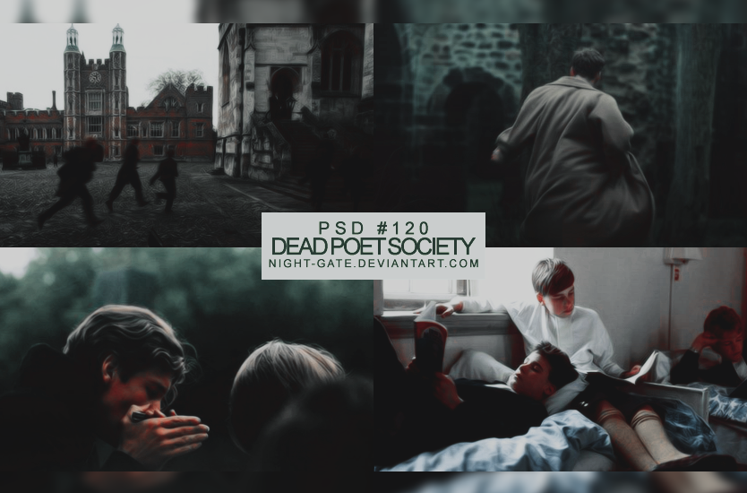 PSD #120   Dead Poet Society by night-gate