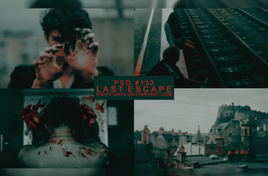 PSD #133 | Last Escape by night-gate by night-gate