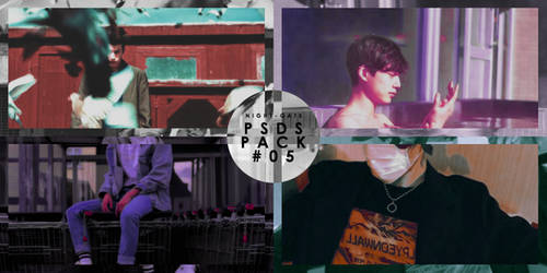 PSDs Pack #05 by night-gate by night-gate