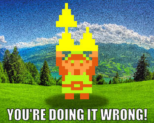 Link Can't Triforce