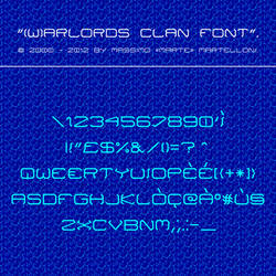 Warlords Clan Font