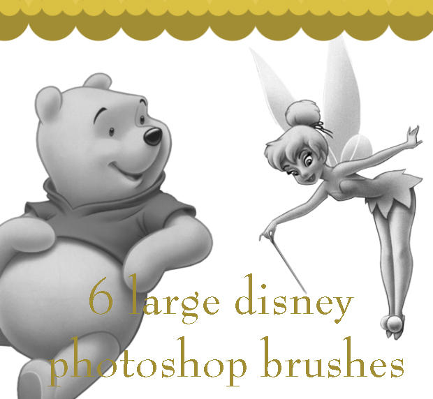 Disney_brushes by scrappythings