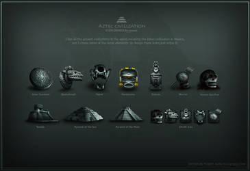 Aztec-Icons by poseit