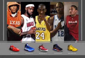 NBA ALL-STAR Game Shoes 2011 by poseit