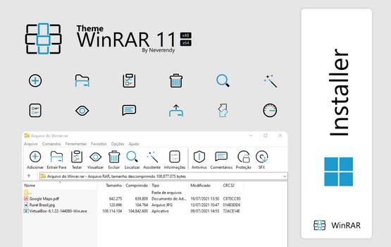 Windows 11 - Winrar Theme
