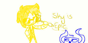 Sky's Ducky pen