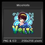 Micro Volts Dock Icon