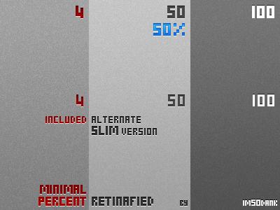 Minimal Percent for Retina by imSOdank