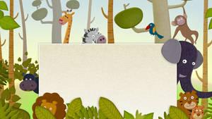 Cartoon animals HD Live Wallpaper